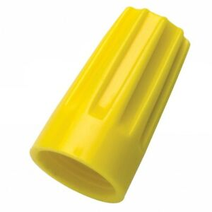 Ideal 30 274 Wire nut Wire Connector Model 74b Yellow 500 bag