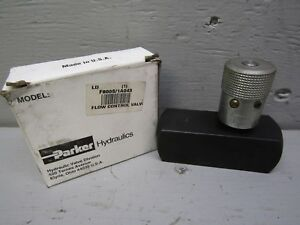 Parker F800s Hydraulic Flow Control Valve