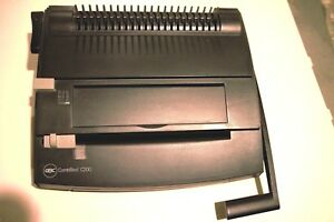 Gbc Combbind C200 Plastic Comb Binding And Hole Punch Machine