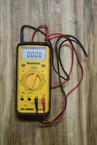 Sperry Dm8700 Techmaster Digital Multimeter Trms