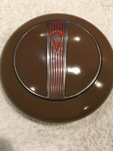 1940 Plymouth Horn Button And Retaining Ring Excellent Shape