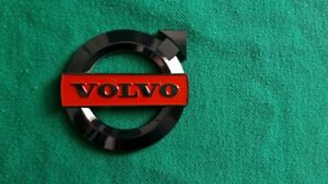Volvo Red Grille Emblem 850 940 740 744 944 Solid Metal Brand New