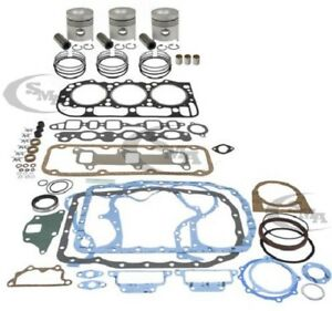 Made To Fit Ford Engine Overhaul Kit 201 Cid 3 Cyl Gas 4000 1968 1974 4600 1975