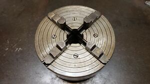 South Bend Lathe 14 1 2 Swing 10 Dia 4 Jaw Chuck 4210 Skinner Made In Usa