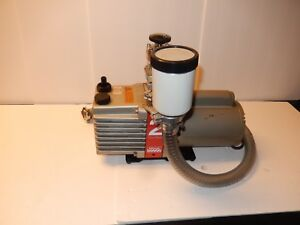 Edwards 2 Two Stage Vacuum Pump Fl20 Foreline Trap Mdc Kav 100 Valve