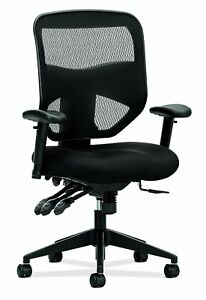 Hon Prominent High Back Task Chair Mesh Computer Chair With Arms