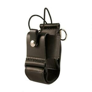 Boston Leather Super Adjustable Radio Holder Radio Holder With D Rings For The