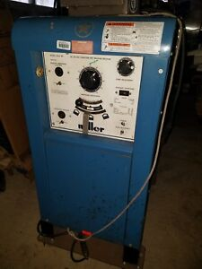 Miller Ac Dc Gas Tungsten Arc Welding Machine 320a bp On Wheels
