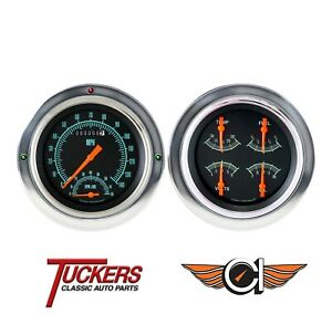 1954 1955 Chevy Gmc Truck 3100 G Stock Gauge Tach Classic Instruments Ct54gs62
