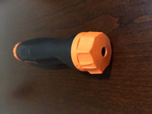 Snap On New Ratcheting Soft Grip Orange Screwdriver Standard Handle Sgdmrc4ao