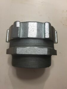 Oz Gedney 4 Steel Conduit Connector Fitting Four Inch