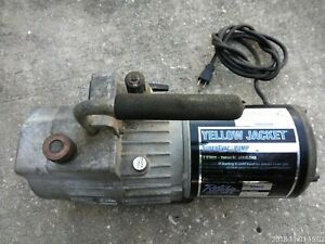 Yellow Jacket 93460 Superevac Two Stage Vacuum Pump