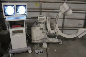 General Electric Ge Oec 9800 Plus C arm X ray System Dom 2001 C Arm Carm