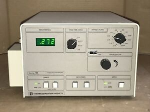 Variable Wavelength Detector Uv vis Thermo Separation Spectra 100 Sc100