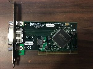 National Instruments Pci Gpib Inst Control Interface Card Ieee 488 188513b 01