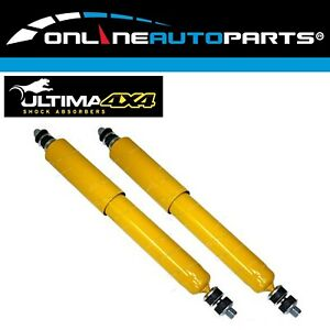 2 Front Gas Shock Absorbers Fit Datsun Nissan Patrol G60 G160 Mq Mk Wagon Ute