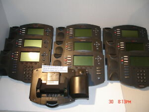 Lot Of 11 Polycom Soundpoint Ip501 Voip Phones W handsets And Stands Pre Owned