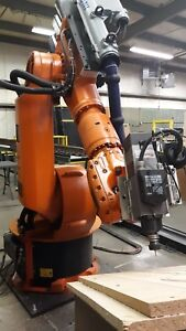Kuka Industrial Robotic Arm Milling Deburring And Polishing Kr150 2 Krc2