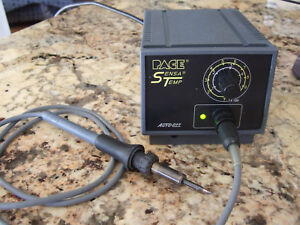 Pace Sensa Temp Model Pps 15 Soldering Station With Soder pen Works