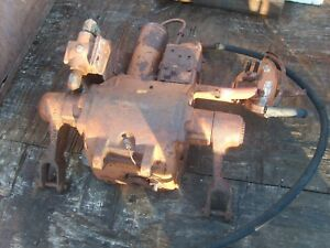 Minneapolis Moline Tractor Hydraulic 3 point Hitch Attachment Complete Brown