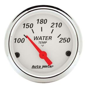 Auto Meter 1337 Arctic White Air Core Water Temperature Gauge
