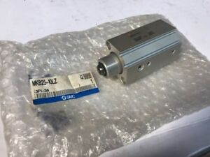New Smc Convolute Gripper Pneumatic Air Cylinder Mkb25 10lz Fast Shipping