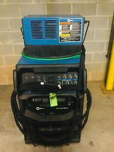 Miller Syncrowave 350lx Water Cooled Tig Welder On Cart