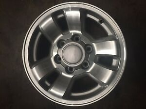1 Used 15 X 7 Toyota 4 Runner Tacoma Wheels Aftermarket Hollander 69346
