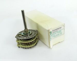 Electro Switch D9g0223n Pa4003 2 Pole 2 23 Pos Non Shorting Switch