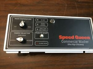Speed Queen Commercial Washer Panel 800260
