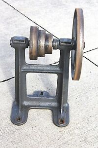 South Bend 9 Lathe Countershaft Motor Pulley Assembly Table Top Used