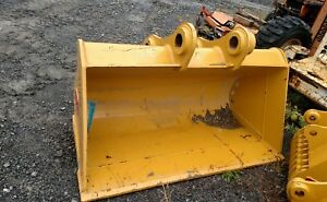 Tasca Teran 60 Grading Clean Out Bucket Cat 320 Excavator 80mm Pin