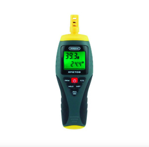 General Tools Digital Temperature Humidity Thermometer Hygrometer Psychrometer