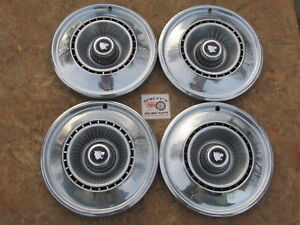 1968 Buick Wildcat 15 Wheel Covers Hubcaps Set Of 4