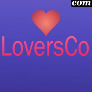 Loversco com Short Letter com Premium Brandable Domain Name For Sale Love