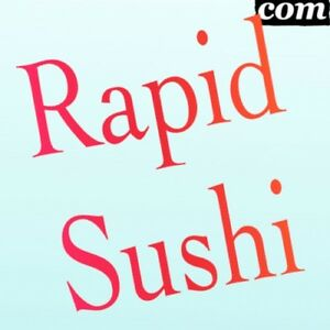 Rapidsushi com Short Letter Com Premium Brandable Domain Name For Sale Fish Food