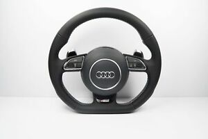 Audi S line A6 A7 A8 S6 S7 S8 Rs6 Half Perforated Steering Wheel