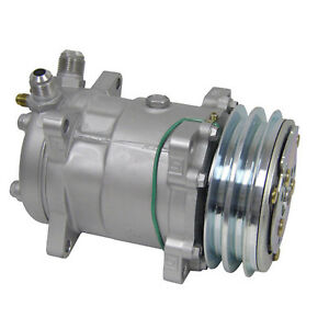 Ryc Remanufactured Ac Compressor And A c Clutch Replaces Sanden 8399