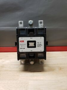 Abb Spectrum Drive Contactor Ehd 280 600 Vdc Drive Contactor free Shipping Used