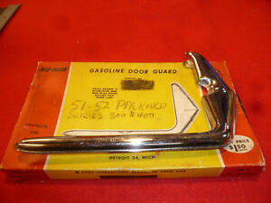 1951 52 Packard Senior Gas Door Guard