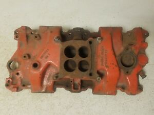 66 67 Chevy 327 Engine Motor 4bbl 4 Barrel Intake Manifold 3872783 K125