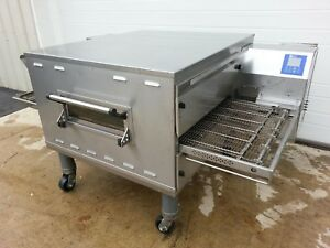 Middleby Marshallps636g Single Stack Gas Conveyor Ovens 24 Total Belt Width