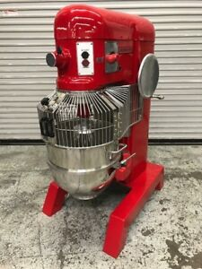 60 Qt Commercial Mixer W All New Bowl Guard Tools Hobart H 600 9467 230v 3ph