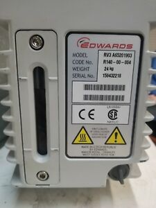 Edwards Rv3 Vacuum Pump New