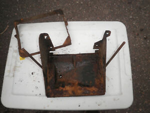 Willys Overland Jeep Truck Battery Box And Hold Down 1952