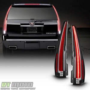 Upgrade Design For 2007 2014 Cadillac Escalade Esv Led Tail Lights Brake Lamps