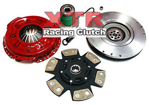 Xtr Stage 3 Clutch Kit Slave Cyl Flywheel For 2005 2010 Ford Mustang 4 0l