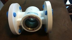 W e Anderson Midwest Sight Flow Indicator 2 Inch Model Sfi 360 fss 2
