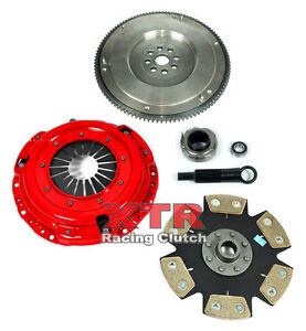 Xtr Stage 4 Clutch Kit Hd Flywheel 1990 91 Integra Rs Ls Gs 1 8l B18 S1 Y1 Cable