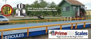 Truck Scale 28 X 10 Ft Truck Scale 85000 Lb Steel Deck Ntep Approved